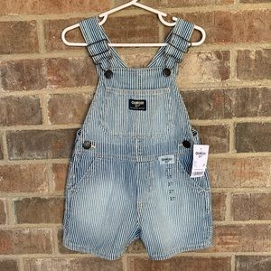 OshKosh B'gosh Toddler Denim Short Overalls, 2T